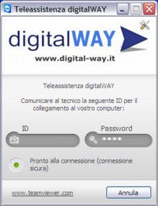 Teleassistenza digitalWAY